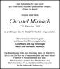 Christel Mirbach