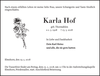 Karla Hof