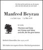 Manfred Beyrau