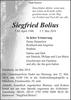 Siegfried Bolius