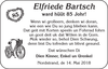 Elfriede Bartsch