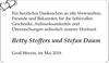 Betty Stoffers und Stefan Daum