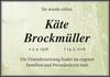 Käte Brockmüller