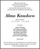 Alma Knudsen