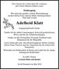 Adelheid Klatt
