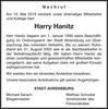 Harry Hanitz