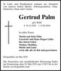 Gertrud Palm