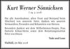 Kurt Werner Sönnichsen
