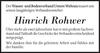 Hinrich Rohwer