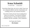 Irma Schmidt
