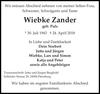 Wiebke Zander