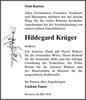 Hildegard Krüger