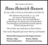 Hans-Heinrich Hansen