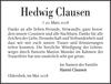 Hedwig Clausen