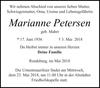 Marianne Petersen