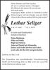 Lothar Seliger