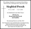 Siegfried Presch