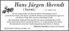 Hans Jürgen Ahrendt