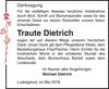 Traute Dietrich