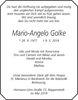 Mario-Angelo Golke