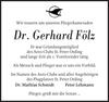 Dr. Gerhard Fölz