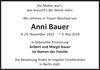 Anni Bauer