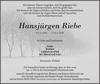 Hansjürgen Riebe