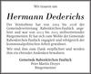 Hermann Dederichs