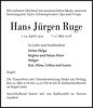 Hans Jürgen Ruge