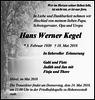 Hans Werner Kegel