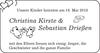 Christina Kirste Sebastian Drießen