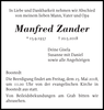 Manfred Zander