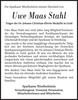 Uwe Maas Stahl
