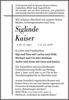 Siglinde Kaiser
