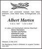 Albert Marten
