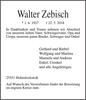 Walter Zebisch