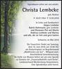 Christa Lembcke