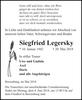 Siegfried Legersky