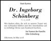 Dr. Ingeborg Schönberg