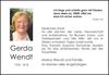 Gerda Wendt