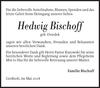Hedwig Bischoff