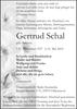Gertrud Schal