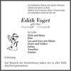 Edith Voget