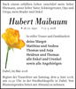 Hubert Maibaum