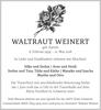 WALTRAUT WEINERT