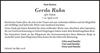 Gerda Rahn