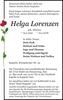 Helga Lorenzen