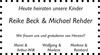 Reike Beck Michael Rehder