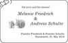 Melanie Friedrich Andreas Schulte