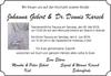 Johanna Gebert Dr. Dennis Karsch